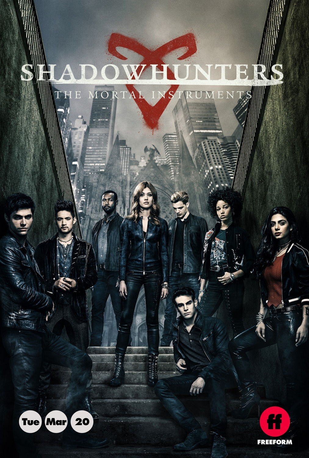 Shadowhunters: The Mortal Instruments Season 3 WEBRip 480p & 720p