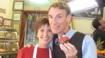 Cynthia Rube and Bill Nye the Science Guy in Solving For X