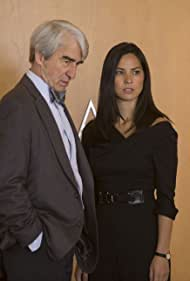 Sam Waterston and Olivia Munn in The Newsroom (2012)