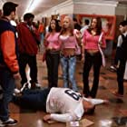 Mia Kirshner, Jaime Pressly, Joy Bisco, Chris Evans, Ron Lester, Deon Richmond, and Morisa Taylor Kaplan in Not Another Teen Movie (2001)