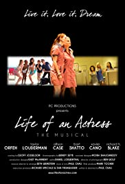 Life of an Actress: the Musical Poster