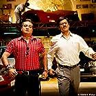 Shah Rukh Khan and Vinay Pathak in Rab Ne Bana Di Jodi (2008)