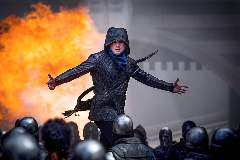 Taron Egerton in Robin Hood (2018)