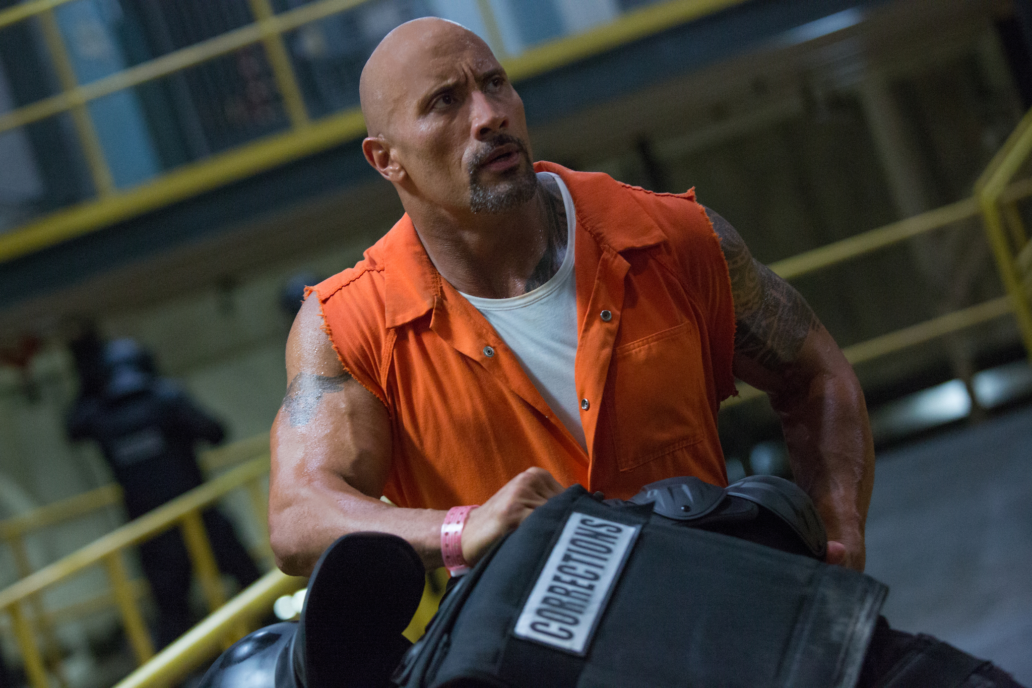 Dwayne Johnson in The Fate of the Furious (2017)