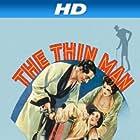 Myrna Loy, Maureen O'Sullivan, and William Powell in The Thin Man (1934)