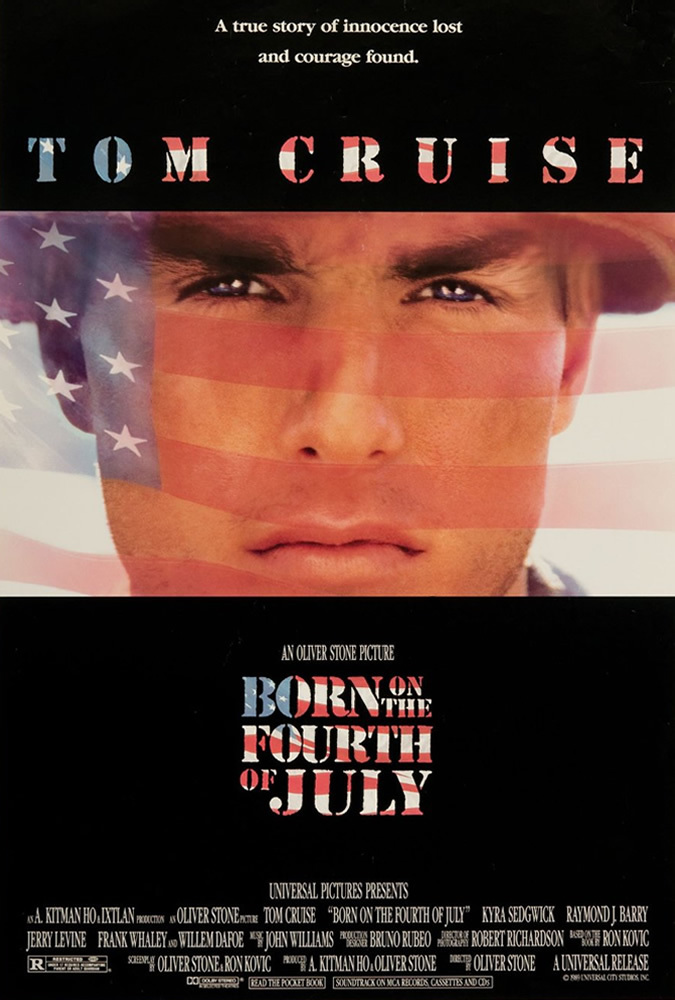 Tom Cruise in Born on the Fourth of July (1989)