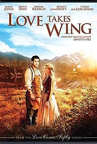 Jordan Bridges and Sarah Jones in Love Takes Wing (2009)