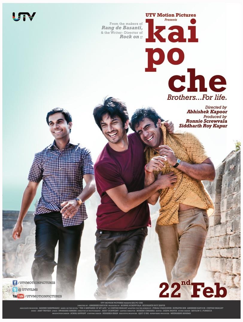 Kai po che! (2013) - IMDb
