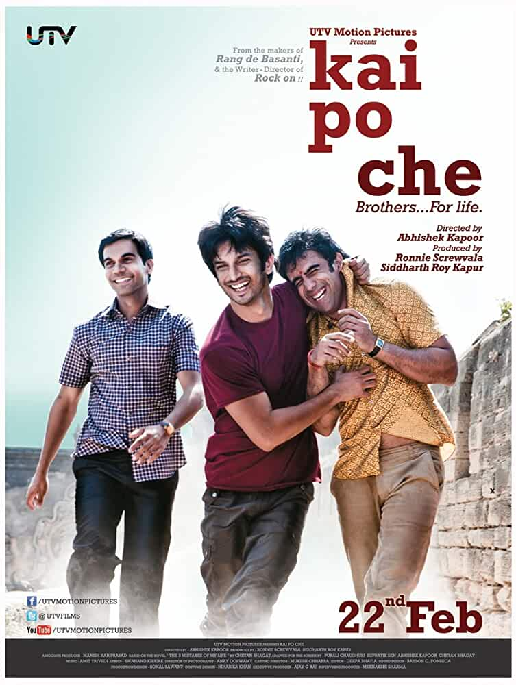 Download Kai po che! (2013) Hindi Full Movie 480p [400MB] | 720p [1GB]