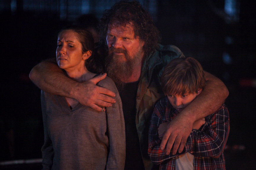 Tom Proctor, Jennifer Faith Ward, and Michael Campion in Finding Eden (2017)