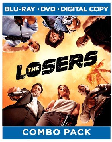 Idris Elba, Chris Evans, Jeffrey Dean Morgan, Zoe Saldana, Óscar Jaenada, and Columbus Short in The Losers (2010)