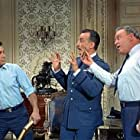 Tony Curtis, George C. Scott, and Carroll O'Connor in Not with My Wife, You Don't! (1966)