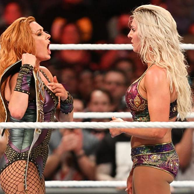 Rebecca Quin and Ashley Fliehr in WWE Evolution (2018)
