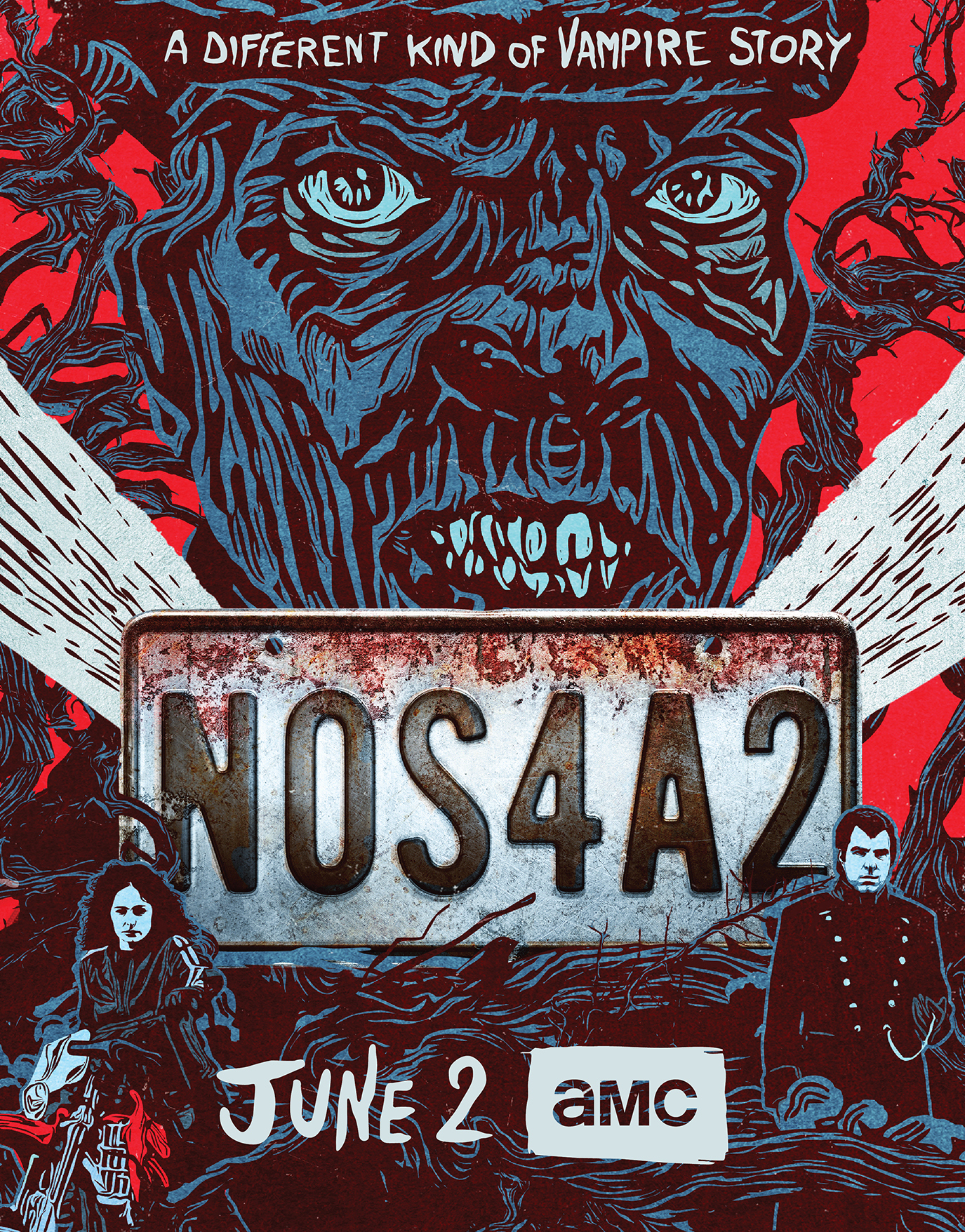 AMC's Poster for 'NOS4A2'