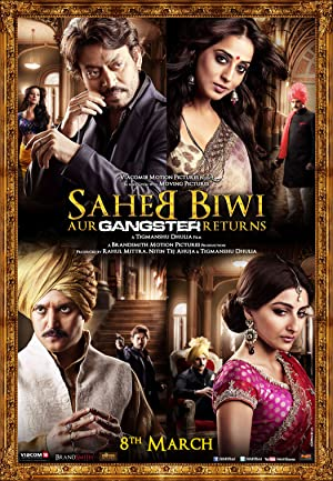 Where to stream Saheb Biwi Aur Gangster Returns