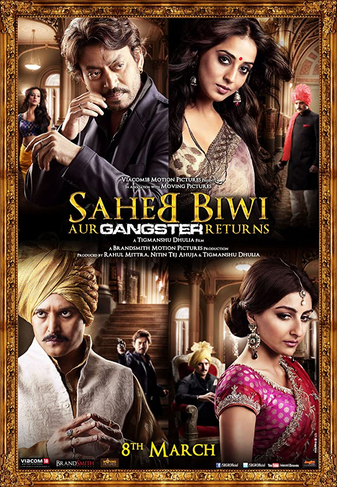 Saheb Biwi Aur Gangster Returns (2013) Hindi Movie 450MB BluRay ESubs Download