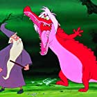 Karl Swenson and Martha Wentworth in The Sword in the Stone (1963)