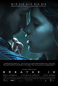 Guy Pearce and Felicity Jones in Breathe In (2013)