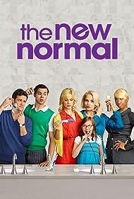 Ellen Barkin, Justin Bartha, Andrew Rannells, Georgia King, NeNe Leakes, and Bebe Wood in The New Normal (2012)