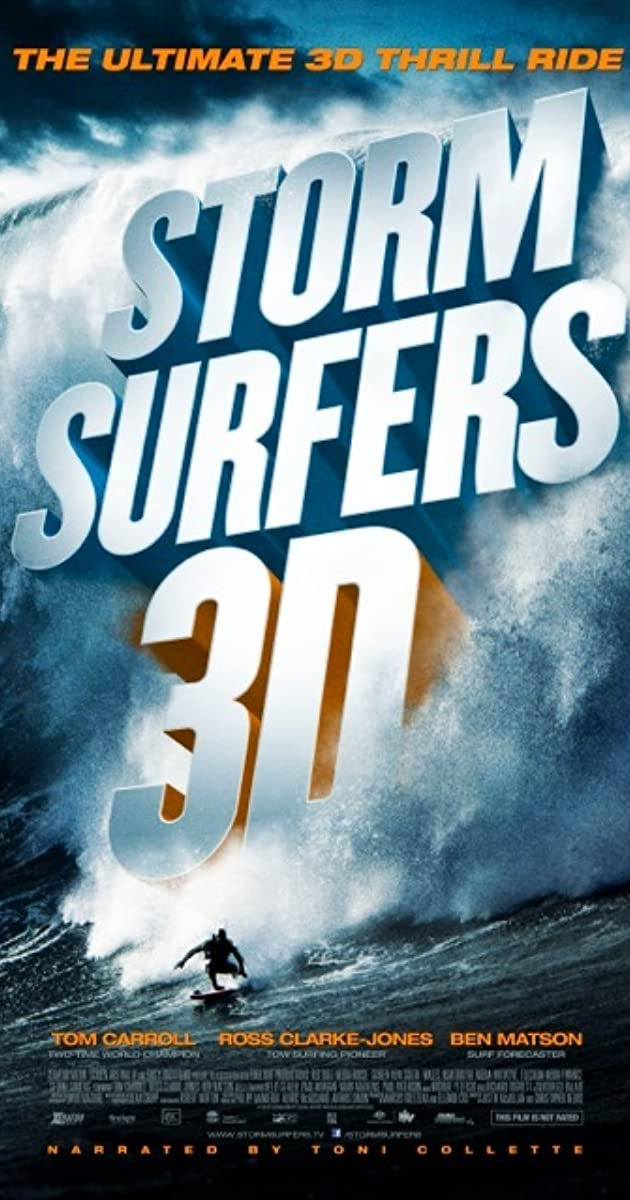 Subtitle of Storm Surfers 3D