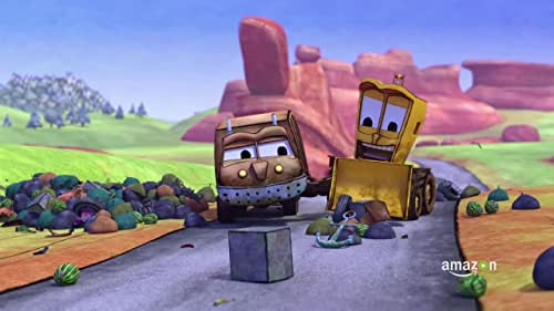 """The adventures of best friends and unlikely heroes, Stinky the garbage truck and Dirty the backhoe loader, a dynamic and hilarious duo of resourcefulness that learn that when things don't as expected, asking """"what if"""" can lead to success."""