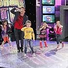 R. Brandon Johnson, Caitlin Carmichael, and Emily Skinner in Shake It Up (2010)