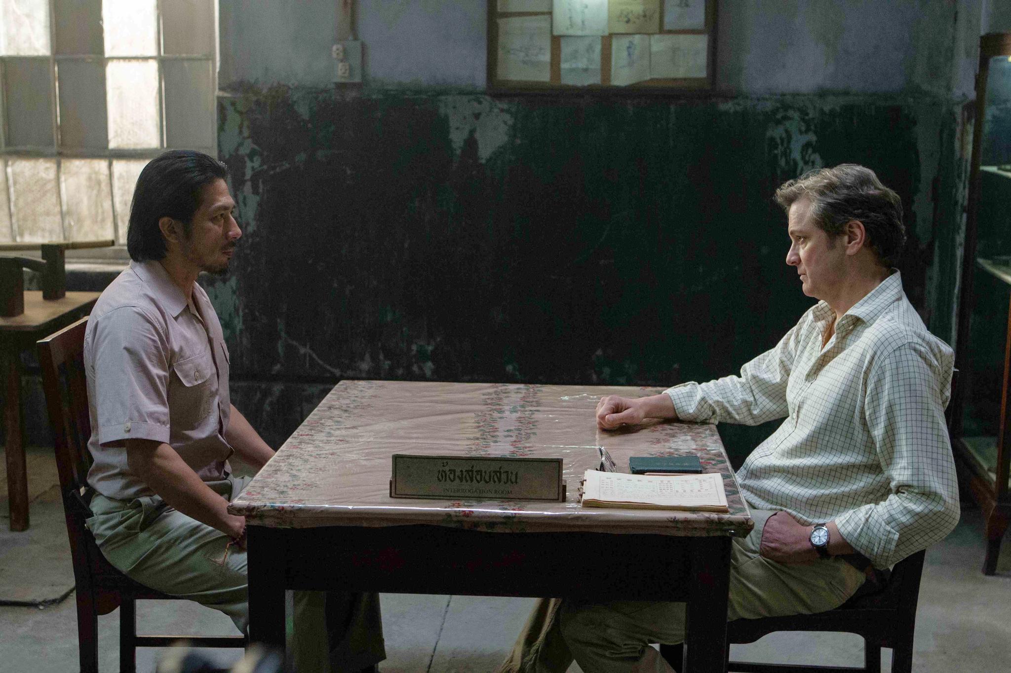 Colin Firth and Hiroyuki Sanada in The Railway Man (2013)