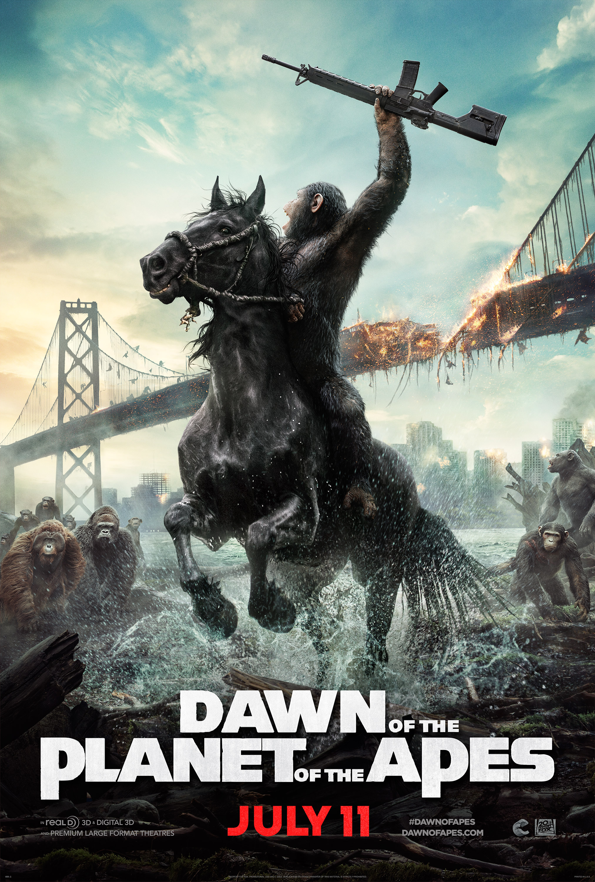 Dawn Of The Planet Of The Apes 2014 Imdb