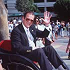 Roger Moore at an event for The Quest (1996)