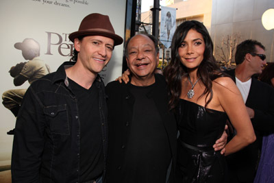 Cheech Marin, Clifton Collins Jr., and Patricia Manterola at an event for The Perfect Game (2009)