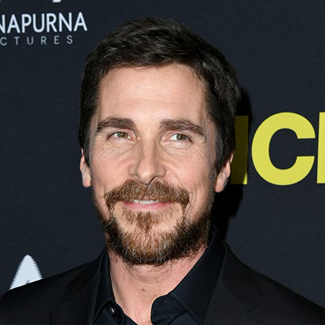 Christian Bale at an event for Vice (2018)