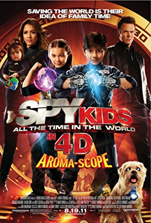 Spy Kids 4: All the Time in the World Pelicula Poster