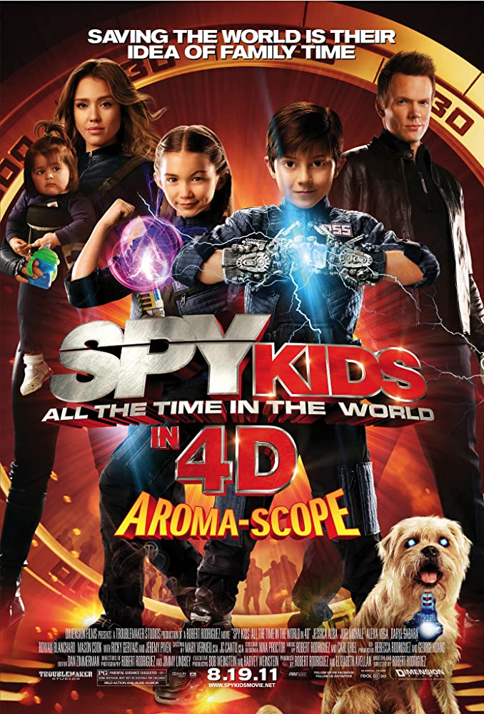 Spy Kids 4: All the Time in the World in 4D (2011) ซุปเปอร์ทีมระเบิดพลังทะลุจอ