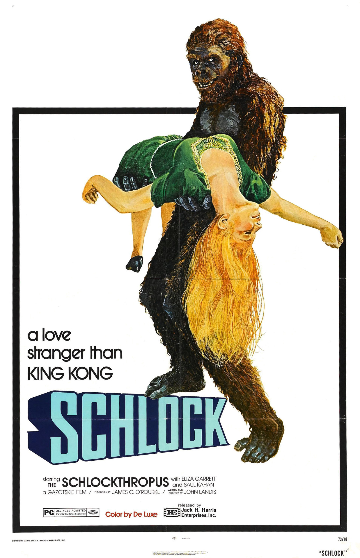 Image result for schlock 1973