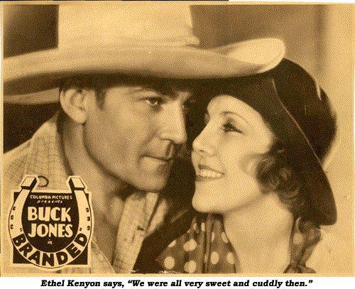Buck Jones and Ethel Kenyon in Branded (1931)