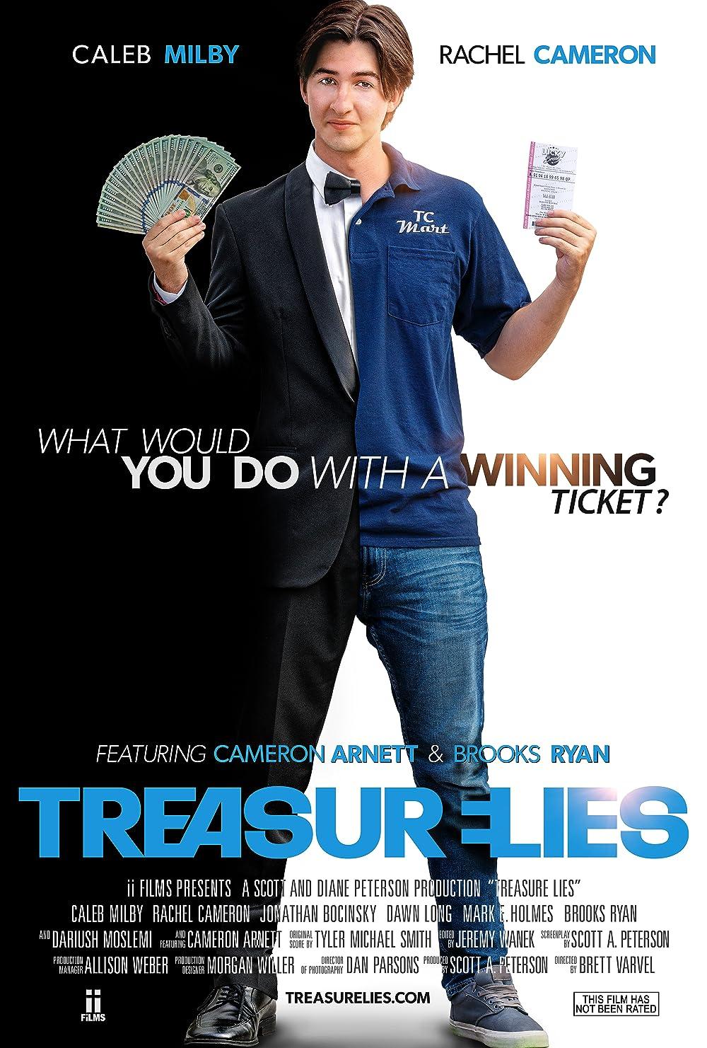 Treasure Lies 2021 English 720p HDRip 800MB | 341MB Download