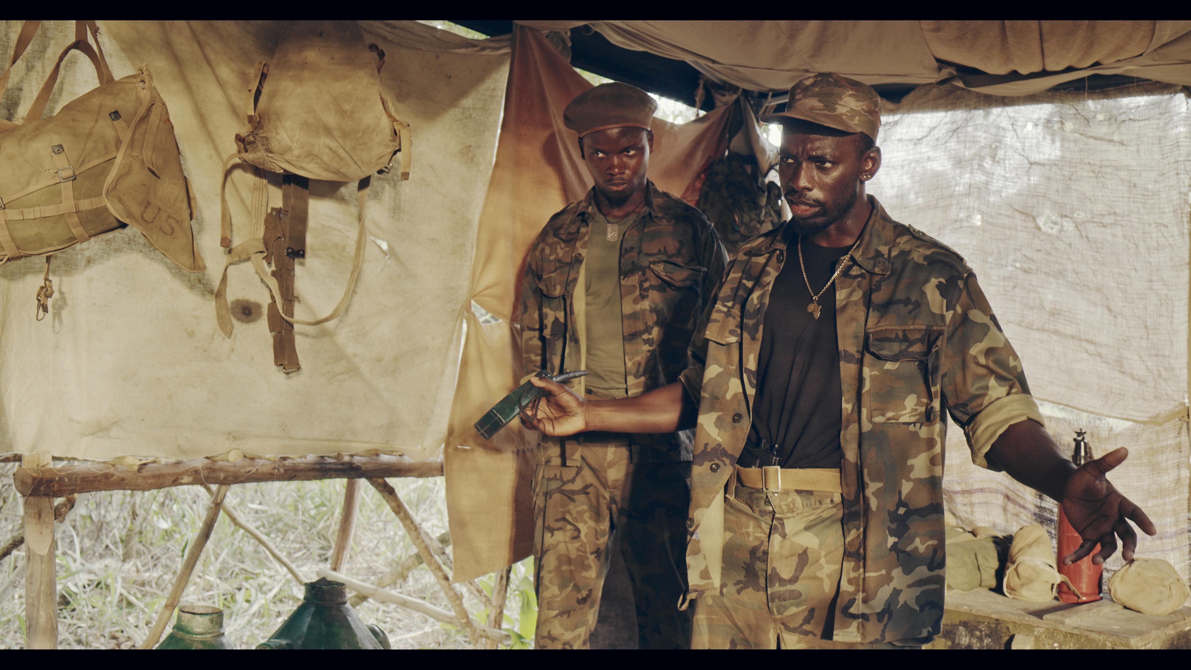 Jonathan Mubanda and Cedric Keka Shako in Charity (2020)