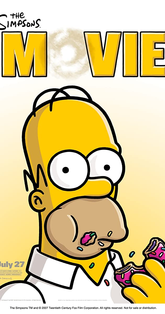 The Simpsons Movie 2007 Alternate Versions Imdb