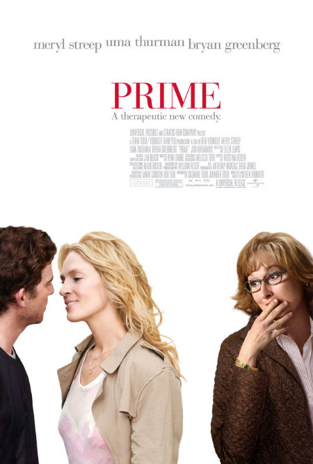 Uma Thurman, Meryl Streep, and Bryan Greenberg in Prime (2005)