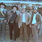 Paul Newman, Robert Redford, Ted Cassidy, Charles Dierkop, Dave Dunlop, and Timothy Scott in Butch Cassidy and the Sundance Kid (1969)