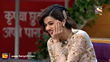 Manoj and Taapsee in Kapil's Show