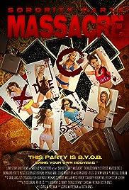 Sorority Party Massacre Poster