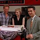 Jason Priestley, Jennie Garth, and Ian Ziering in Beverly Hills, 90210 (1990)