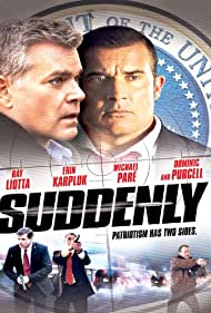 Ray Liotta and Dominic Purcell in Suddenly (2013)