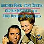 Gregory Peck and Angie Dickinson in Captain Newman, M.D. (1963)