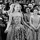 Cate Blanchett, Lily Allen, and Kelly Macdonald in Elizabeth (1998)