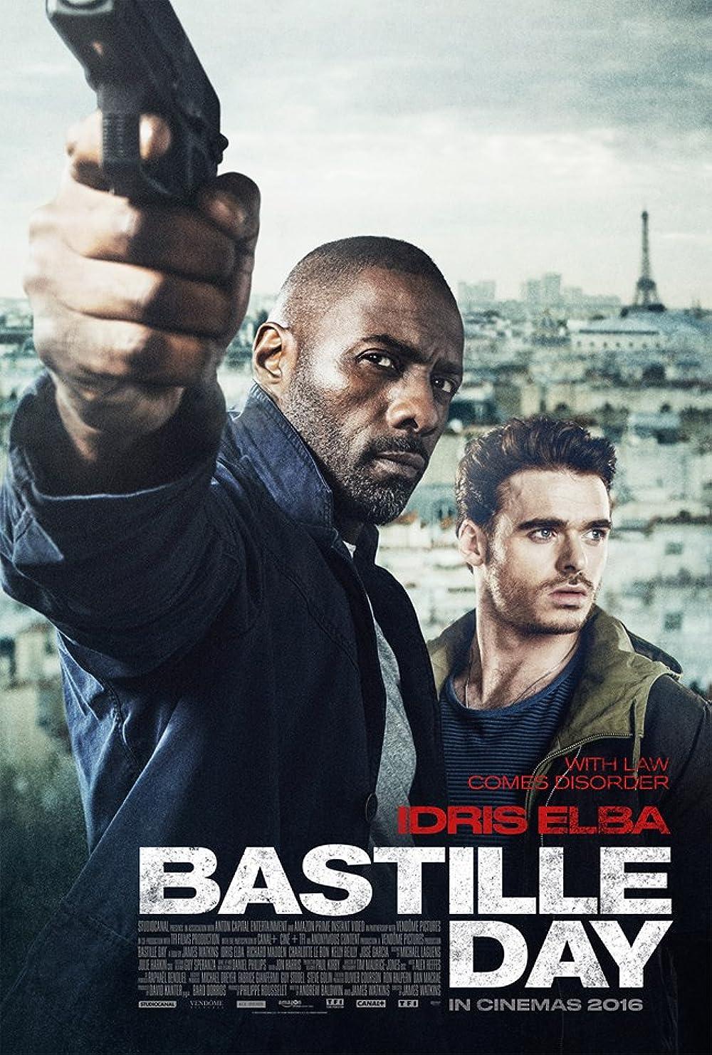 Poster film Bastille Day.