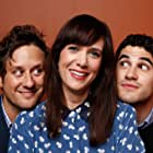 Christopher Fitzgerald, Kristen Wiig, and Darren Criss at an event for Girl Most Likely (2012)