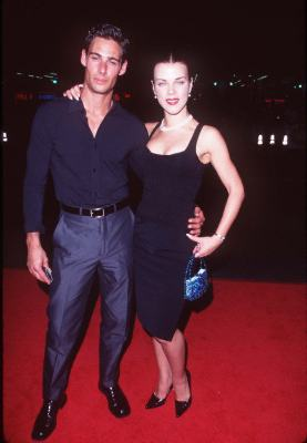 Debi Mazar and Nick Scotti at an event for The Game (1997)
