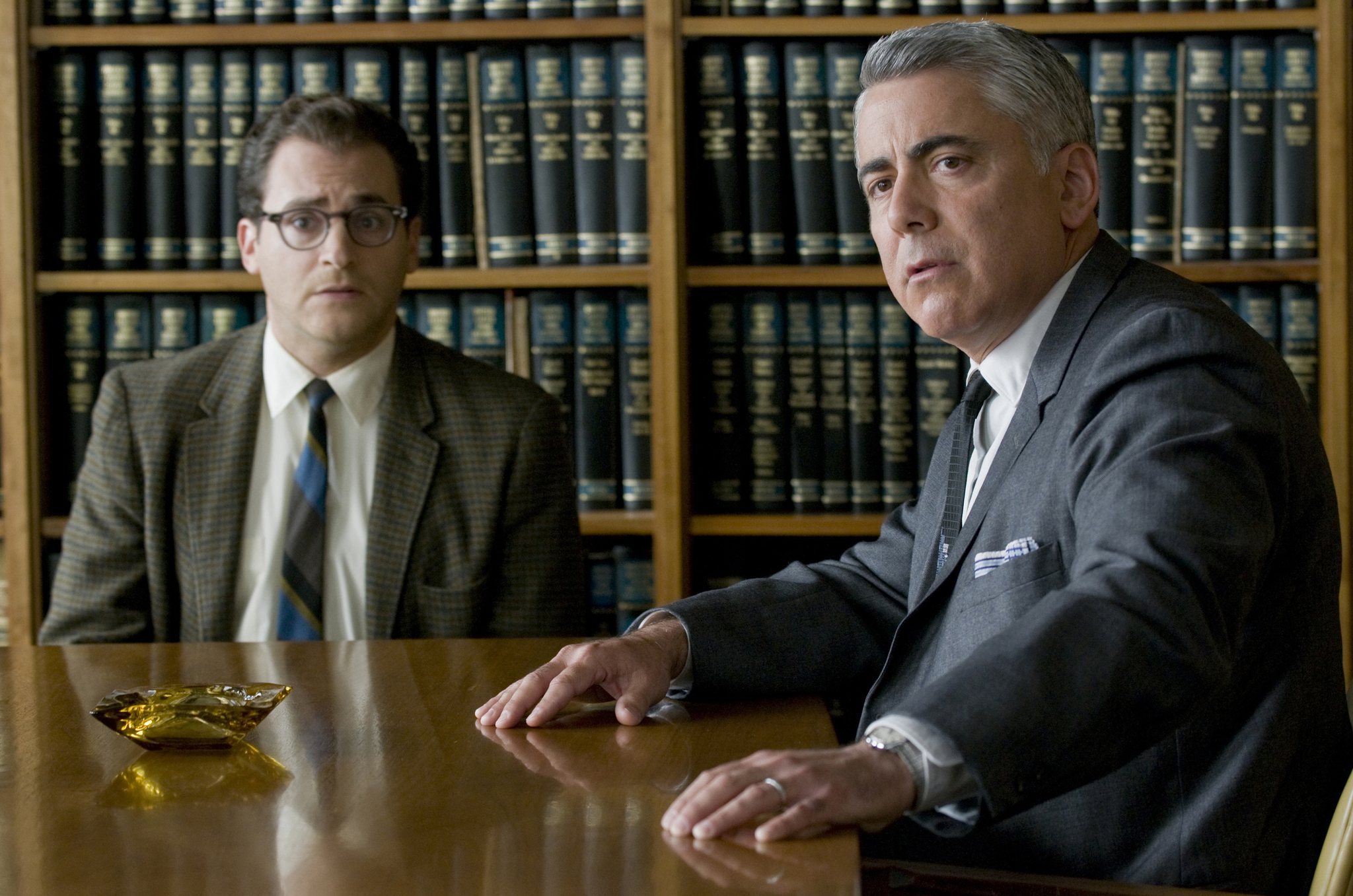 Adam Arkin and Michael Stuhlbarg in A Serious Man (2009)